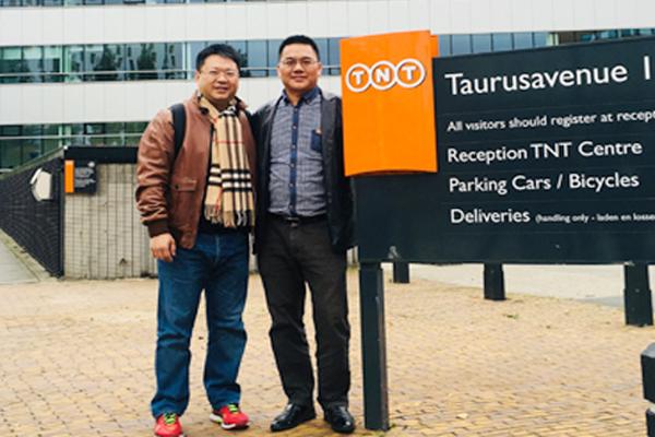 我司领导访问欧洲TNT总部